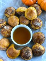 Pumpkin Pancake Bites