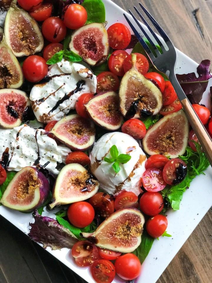 Burrata Fig Salad