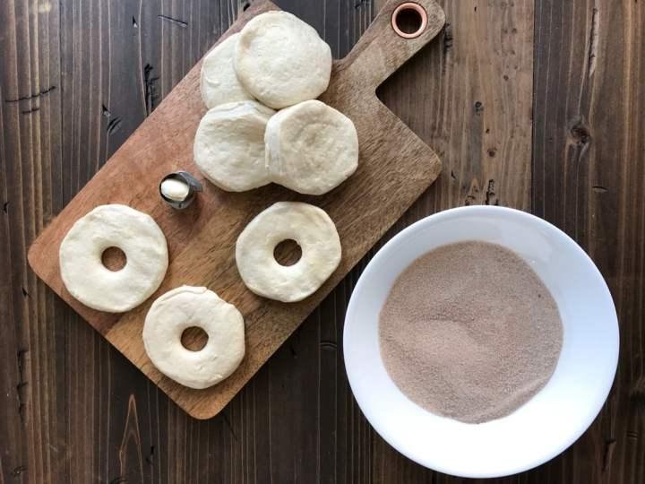 Easy Cinnamon Sugar Donut