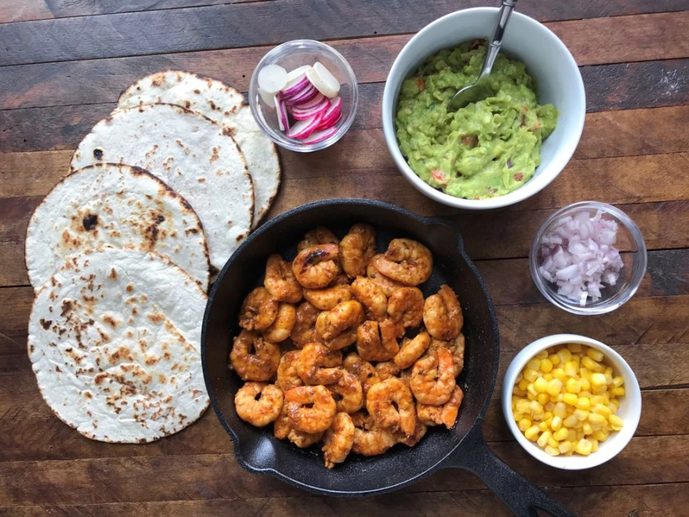 Chili Lime Shrimp Taco