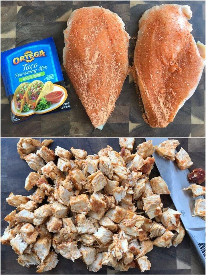 Southwest Chicken Tacos