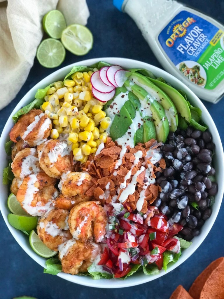 Shrimp Taco Bowl