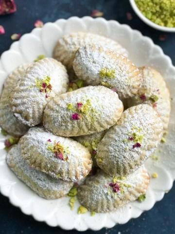 Pistashio Maamoul Cookies