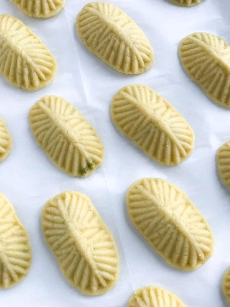 Pistachio Maamoul Cookies