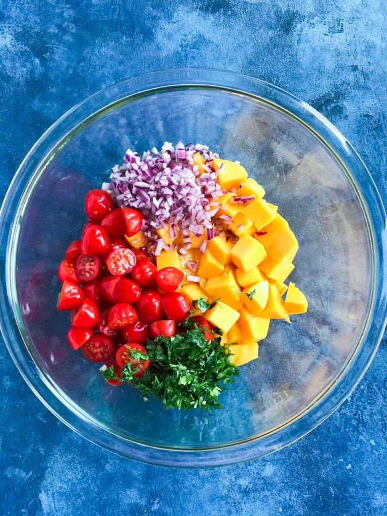 Avocado Mango Salad Healthy And Delicious Cookin With Mima