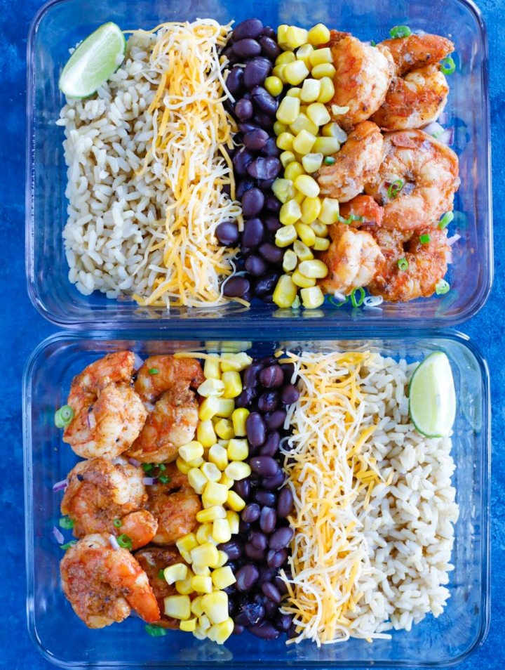 Shrimp Taco Meal Prep