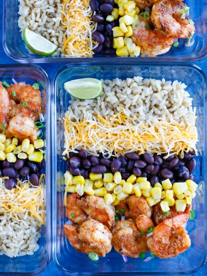 Shrimp Taco Meal Prep Dressings