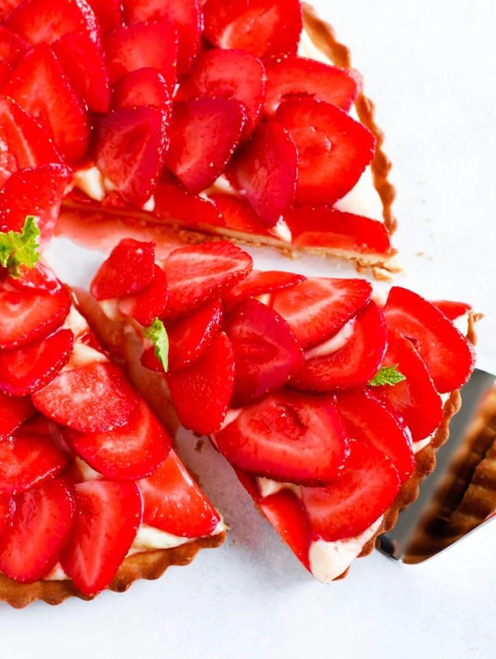 Strawberry French Tart