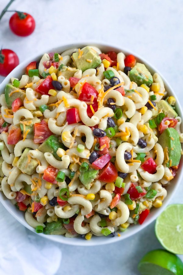 Taco Ranch Pasta Salad
