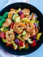 Shrimp and Vegetables