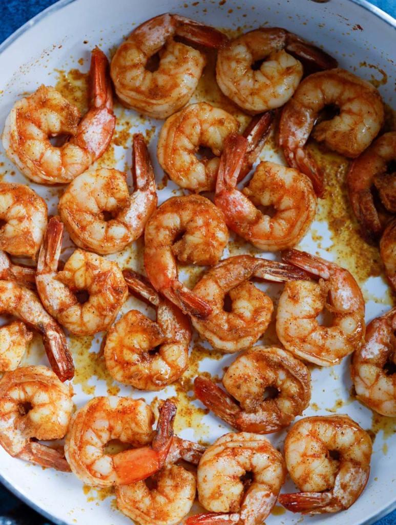 pan seared cajun shrimp