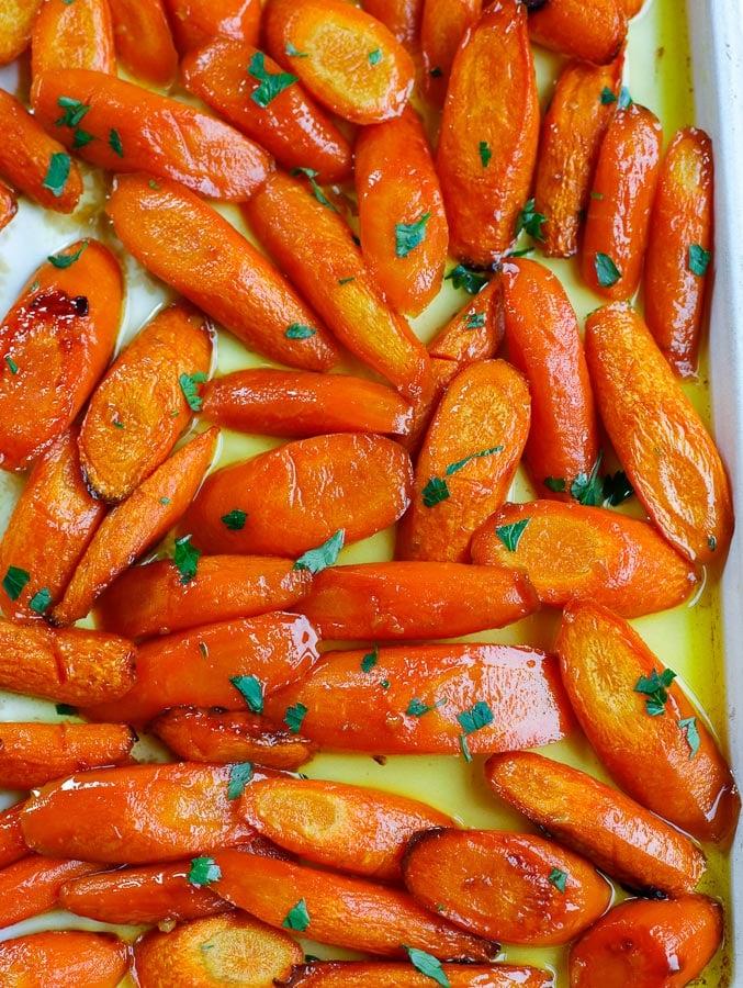 Sugar Glazed Carrots