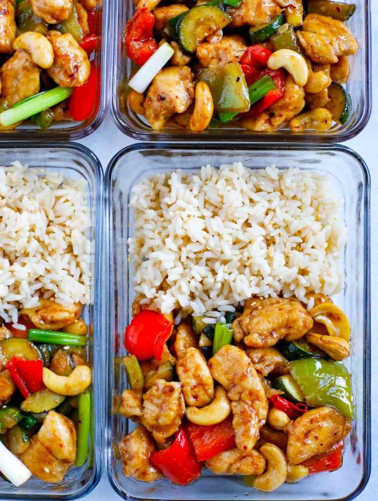 Cashew Chicken Meal Prep