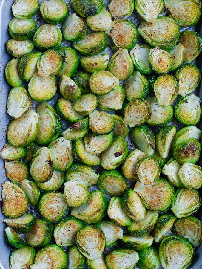 roasted sprouts