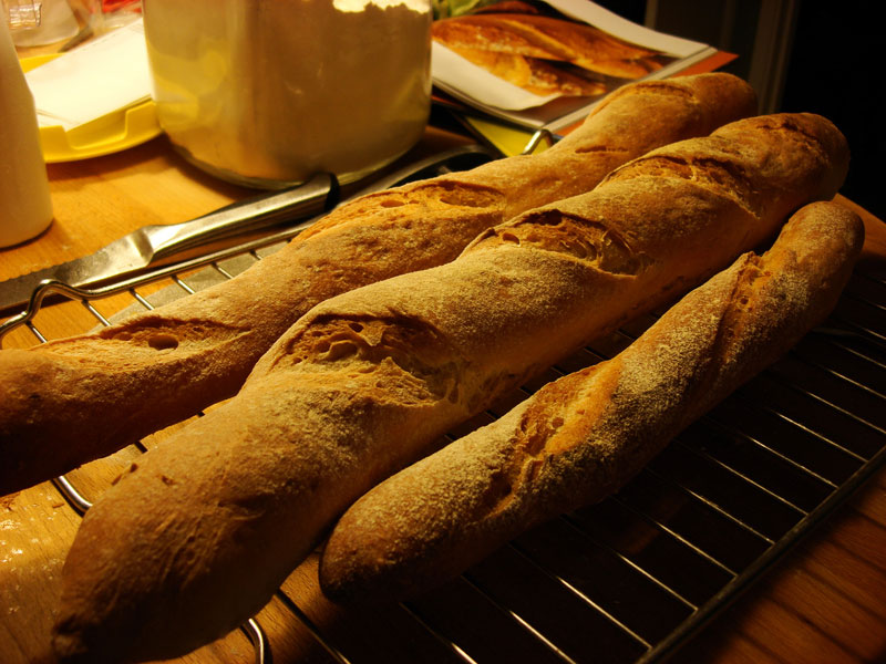 Baguette French recipe