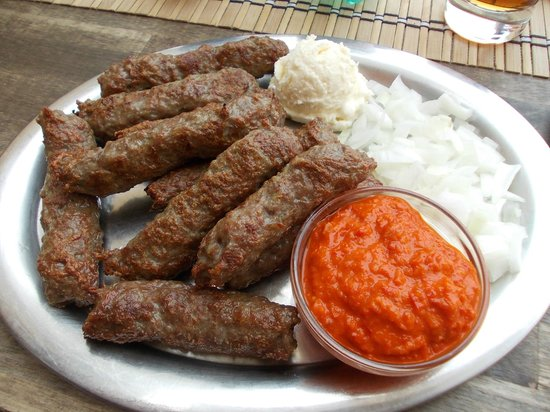 Recipe for evapii Serbian sausages
