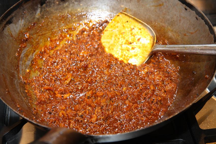 Prawn balchao pickle Indian recipe