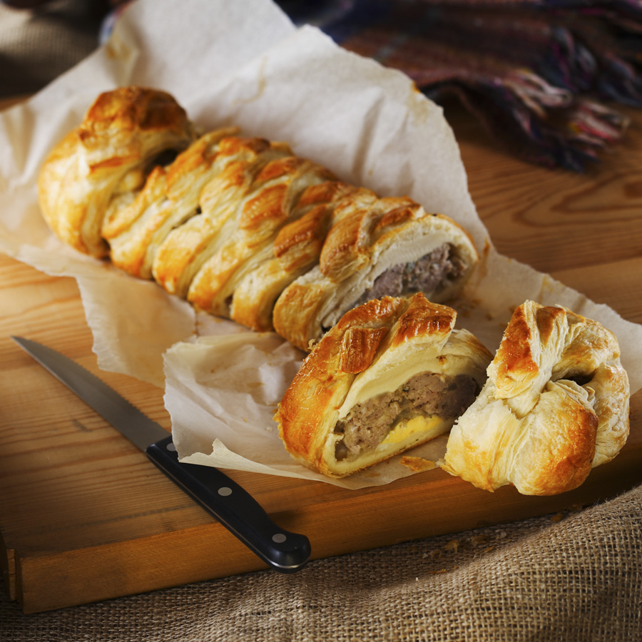 Gluten free sausage plait recipe