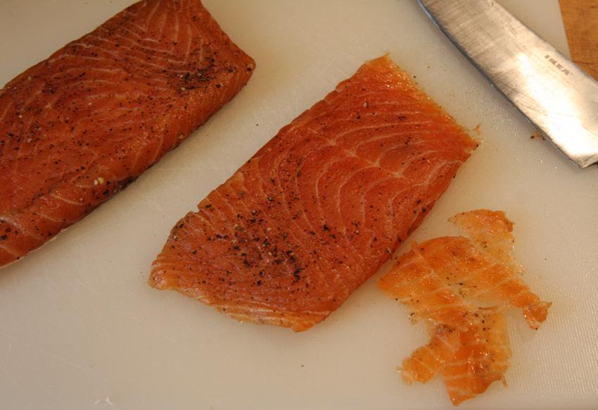 Gravlax Fish recipe