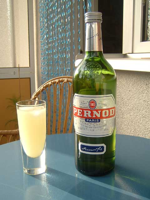 Pernod.jpg. 6328: Pastis: Cooking