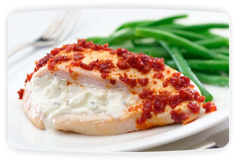 Philadelphia Stuffed Chicken With Sundried Tomato Recipe