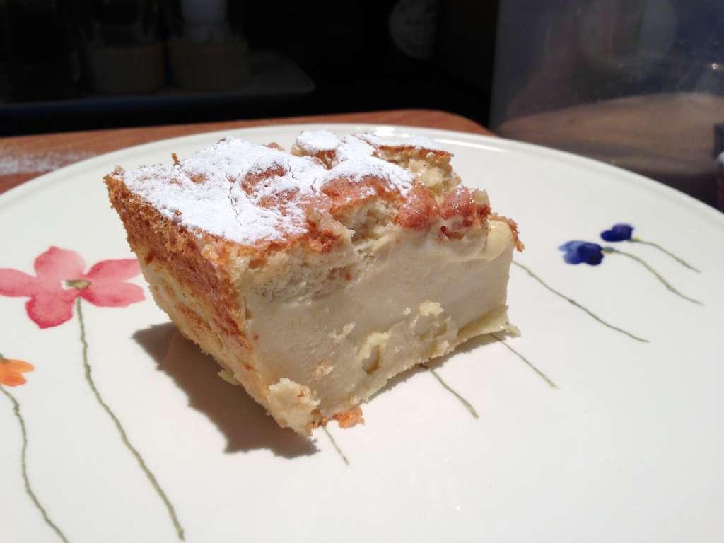 Magic Custard Cake  A triple layered eggcustard cake recipe