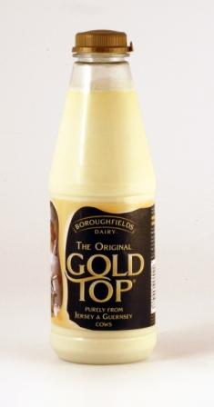 Gold Top milk Cooking Wiki