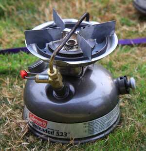 Coleman Unleaded 533 camping stove Cooking Wiki