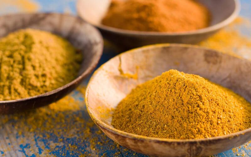 Quels sont les différents types de curry ?