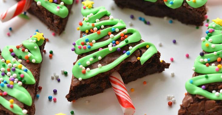 Brownies de Noël