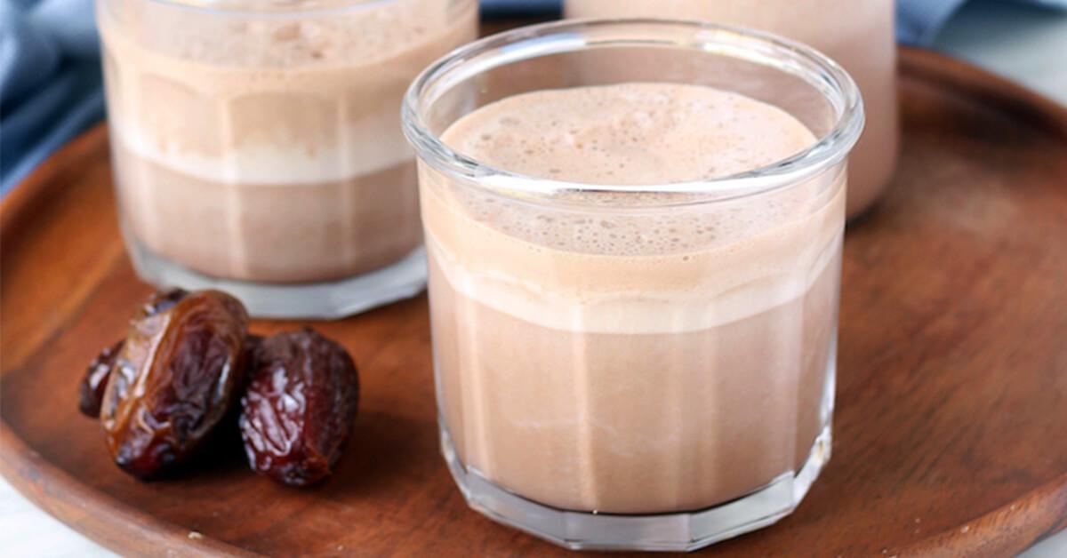lait de dattes aux épices - Cookme