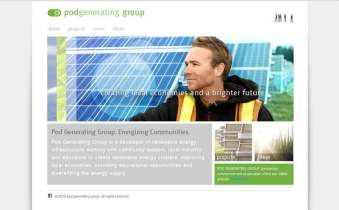 Website - Renewable Energy Company
