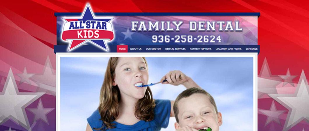 family-dental-website-design
