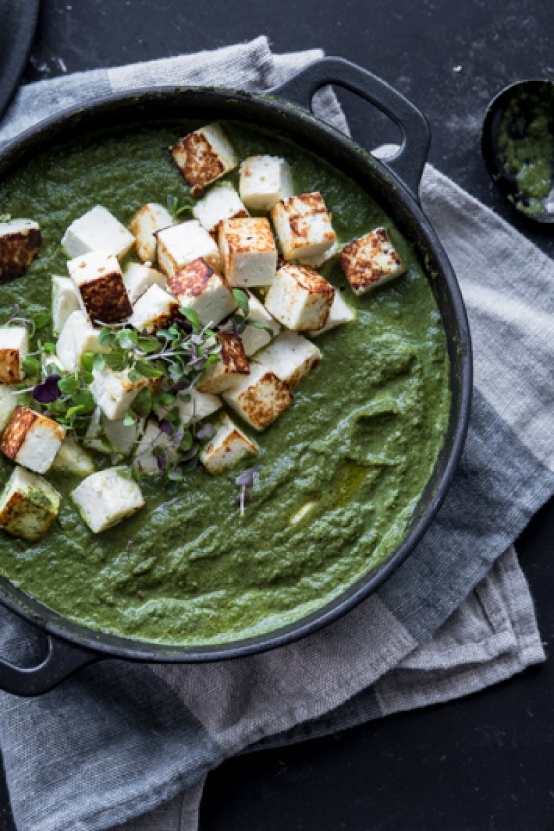 Kale Paneer - Cook Republic / photo, Sneh Roy