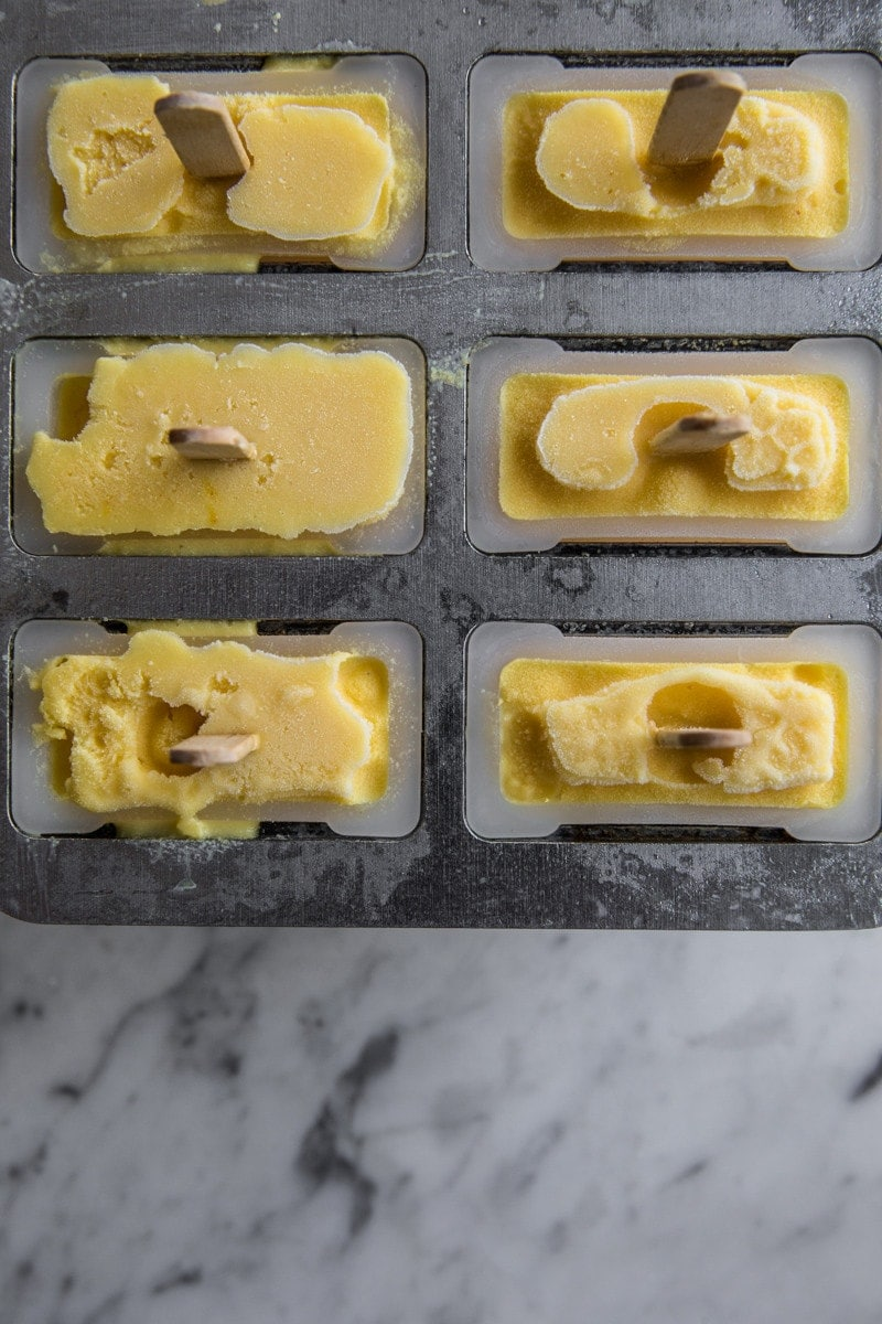 Mango And Sour Cream Blender Pops - Cook Republic