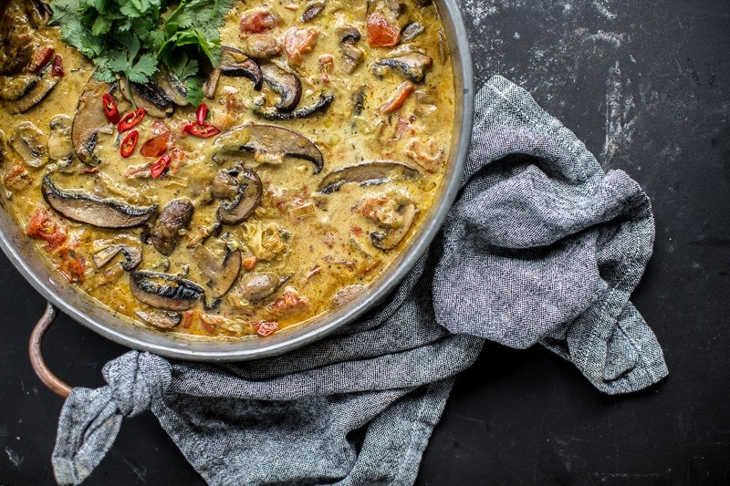 Baked Mushroom Curry - Cook Republic #vegan #glutenfree