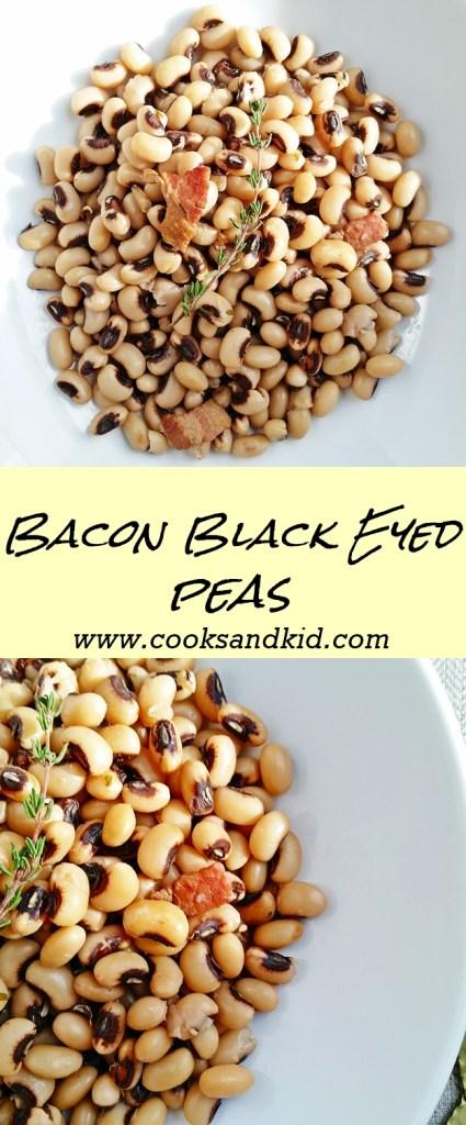 bacon black eye peas