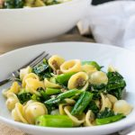 orecchiette with chinese broccoli and sausage