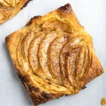 Apple Tart with Puff Pastry Recipe