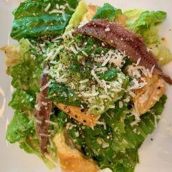 Plated Caesar Salad
