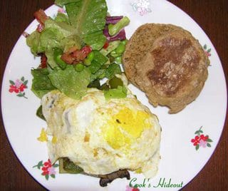 Potato and Mushroom Hash
