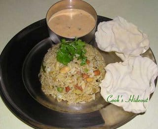 Vangi Bhath (Eggplant Rice)