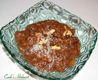 Chocolate Bread Halwa