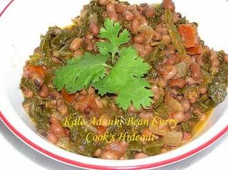 Adzuki Beans – Kale Curry