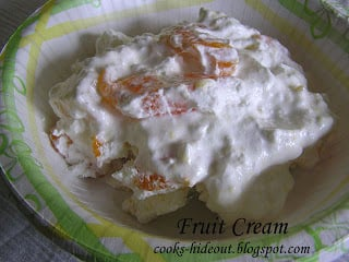 Fruit Cream