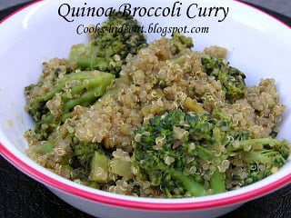 Quinoa Broccoli Curry
