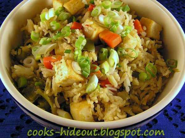 Thai Inspired Fried Rice