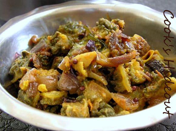 Kakarakaya Kura (Bittergourd Curry)