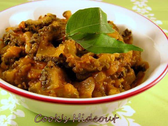 Bittergourd in Spicy Kolhapuri gravy