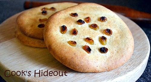 Sheermal-Sweet Yeasty Indian Bread